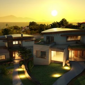 3  custom made houses in panoroma thessaloniki
