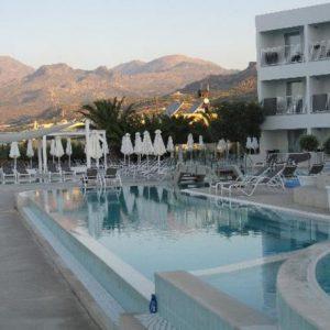 HOTEL SUNWING IN IERAPETRA KRETE ISLAND